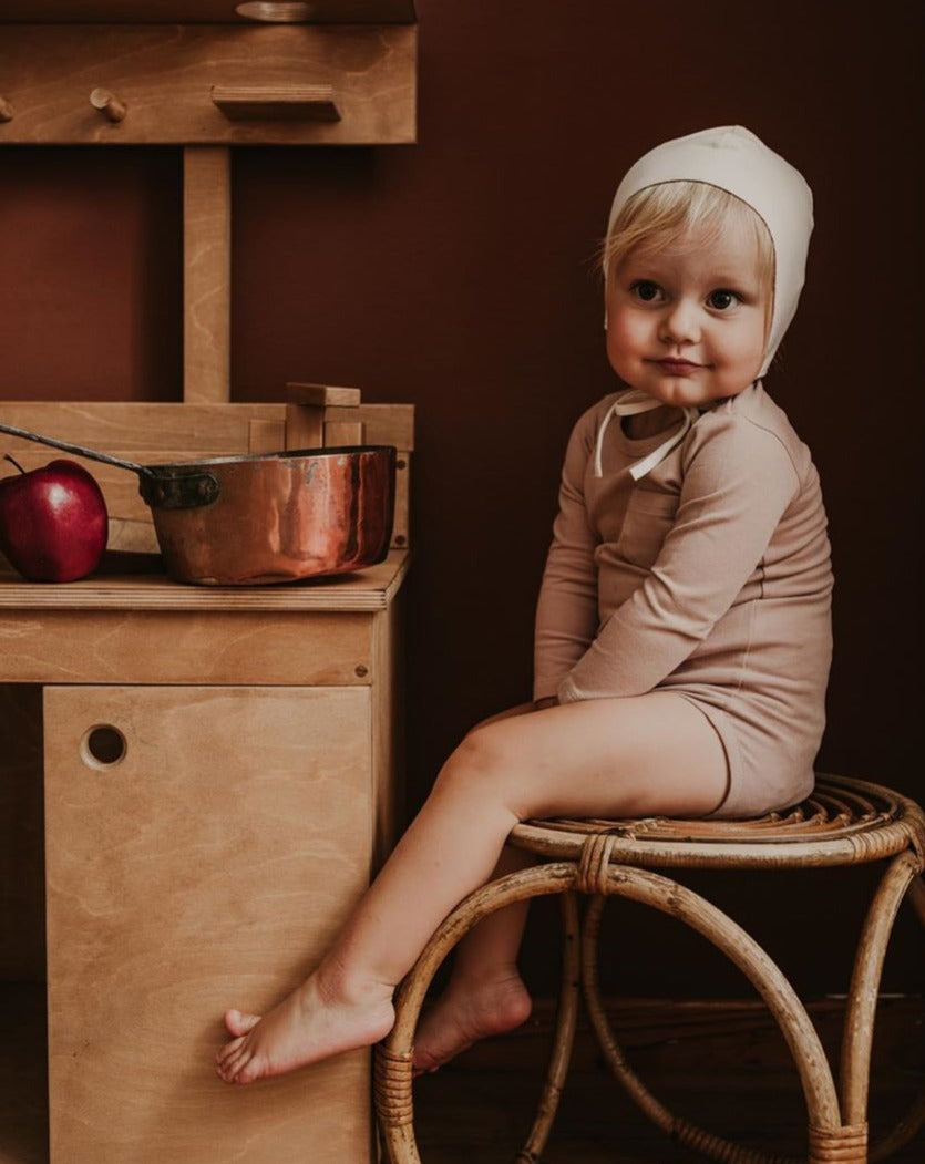 The simple folK  Long-Sleeve Onesie