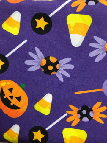 HALLOWEEN THEMED DESIGN PET BANDANAS SCARVES - 70CM x 46.5CM x 46.5CM