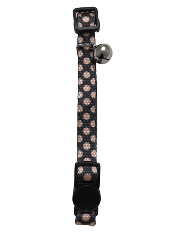 CAT COLLAR - POLKA DOTS - 20cm - 30cm - Safety Breakaway Buckle