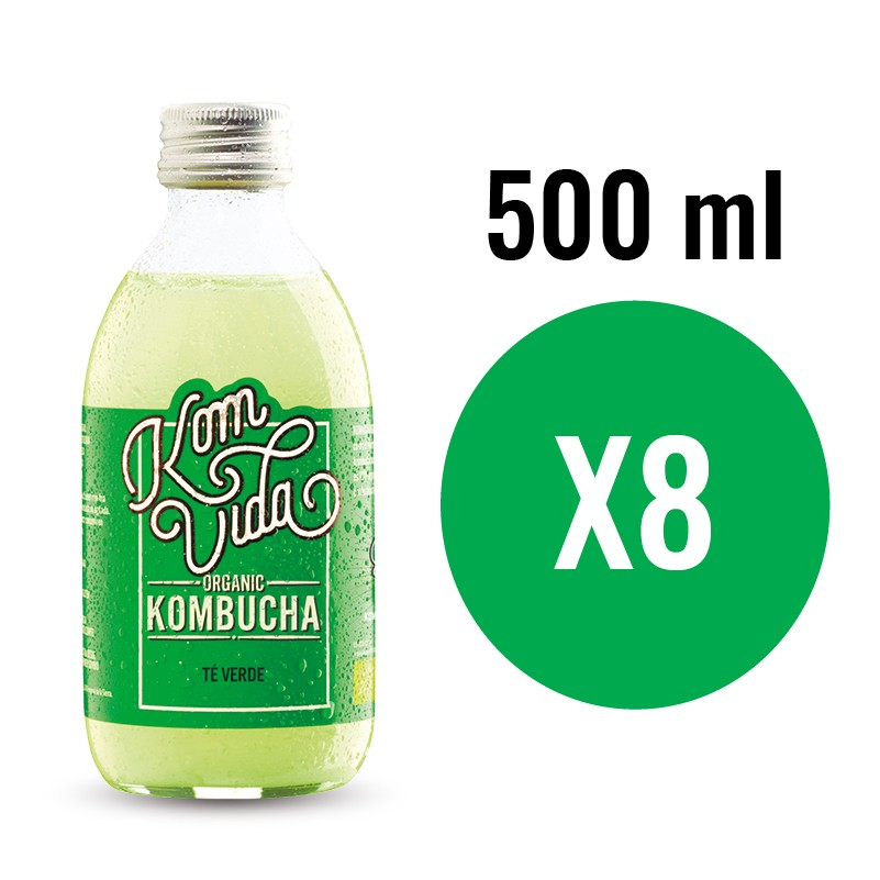 PACK KOMVIDA SABOR GREENVIDA 8x500 ml