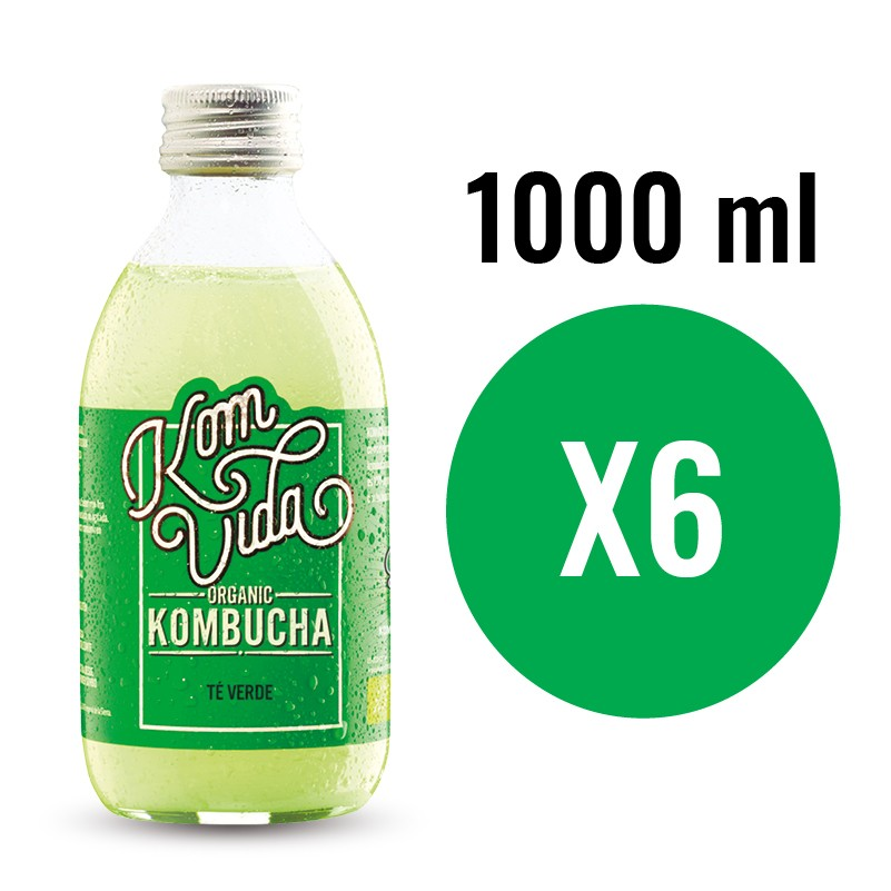 PACK KOMVIDA SABOR GREENVIDA 6X1000 ML
