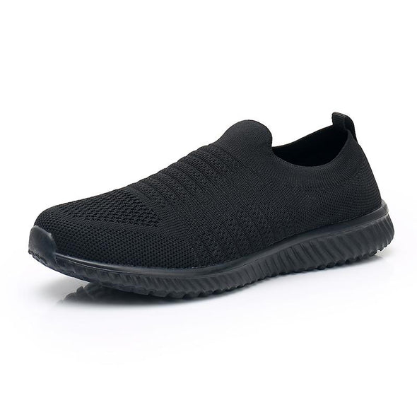 Akk Large Size Women's Slip-on Walking Tennis Shoes