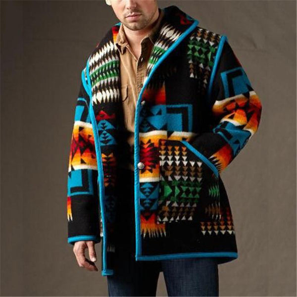 2020 Men's Fashion Winter Vintage Coat Jacket