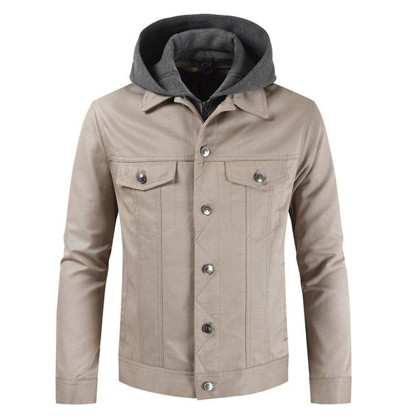 Mens Winter Jacket with Hood