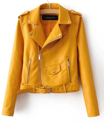 Soft Women's Leather Jacket
