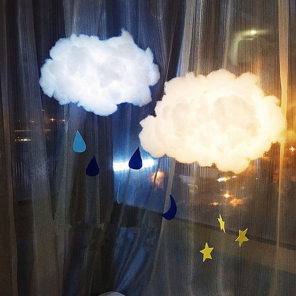 DIY Cute Cotton Cloud Light-FREE SHIPPING!