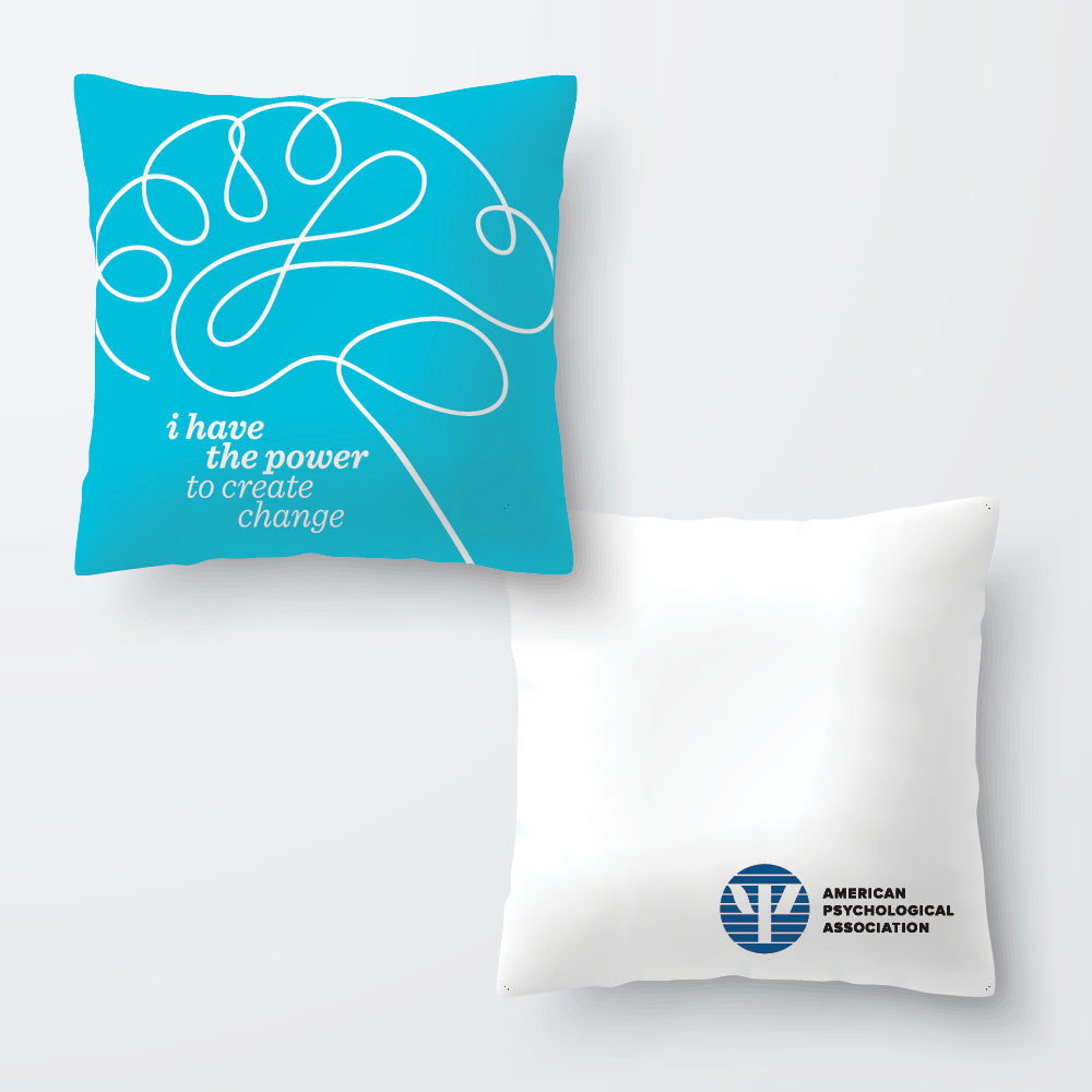 Power to Create Change Pillow