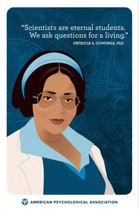 Groundbreaking Women of Color Psychologists Postcards