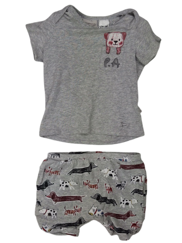 Preloved, Used, Secondhand, Babies, 1, Peter Alexander, set, Good, Grey, Essential, Animal, Summer, Autumn, Spring, Babies Size 1, Baby