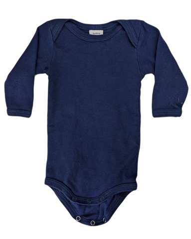 Pre-loved, Used, Secondhand, Babies, 0000, Petit Bateau, romper, Excellent, Blue, Summer, Essential, Babies Size 0000