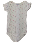 Pre-loved, Used, Secondhand, Babies, 000, Petit Bateau, romper, Excellent, White, Summer, Essential, Babies Size 000