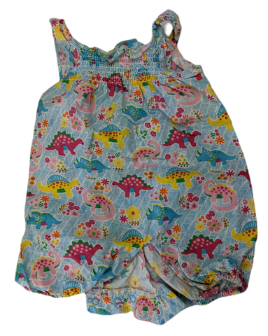 Pre-loved, Used, Secondhand, Babies, 0000, Jojo Maman Bebe, romper, Excellent, Blue, , Babies Size 0000