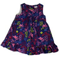 Pre-loved, Used, Secondhand, Babies, 0000, Pumpkin Patch, dress, Excellent, Blue, Summer, Animals, Flower, Babies Size 0000
