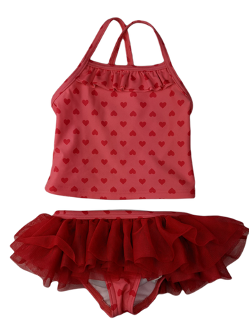Pre-loved, Used, Secondhand, Babies, 2, Target, set, Excellent, Red, Summer, Babies Size 2