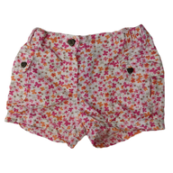 Pre-loved, Used, Secondhand, Babies, 1, Target, shorts, Excellent, Pink, Flower, Babies Size 1