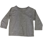 Pre-loved, Used, Secondhand, Babies, 0, Sprout, t-shirt, Fair, Grey, Essential, Daycare, Babies Size 0
