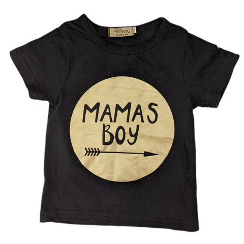 Pre-loved, Used, Secondhand, Babies, 00,0, Catpapa, t-shirt, Excellent, Black, Stylish, Babies Size 00,0