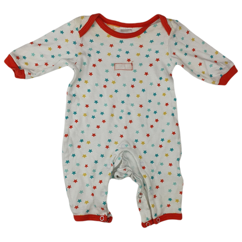 Pre-loved, Used, Secondhand, Babies, 0000, Baby Patch, romper, Good, Red, Animals, Babies Size 0000