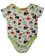 Preloved, Used, Secondhand, Babies, 00, Sprout, romper, Excellent, Green, Animal, Summer, Babies Size 00, Baby
