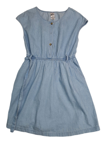 Pre-loved, Used, Secondhand, Girls, 9, Anko, dress, Excellent, Blue, Summer, Girls Size 9