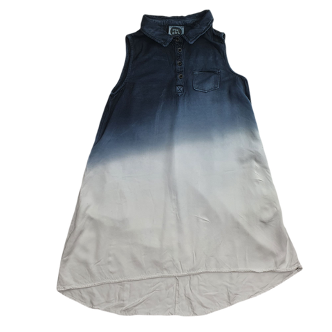 Pre-loved, Used, Secondhand, Girls, 10, Eve Girl, dress, Good, Blue, Summer, Girls Size 10