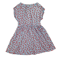 Pre-loved, Used, Secondhand, Girls, 10, Zara, dress, Excellent, Blue, Summer, Girls Size 10