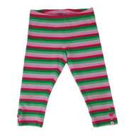 Pre-loved, Used, Secondhand, Girls, 5, Pumpkin Patch, leggings, Good, Green, Red, Party, Summer, Girls Size 5