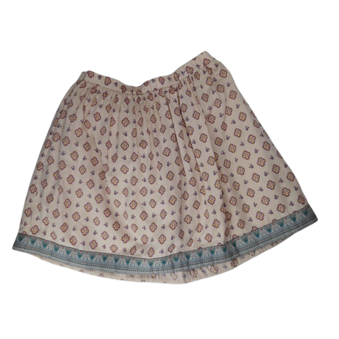 Pre-loved, Used, Secondhand, Girls, 9,10, Noa Noa, skirt, Excellent, Beige, Summer, Girls Size 9,10