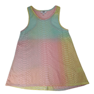 Pre-loved, Used, Secondhand, Girls, 12, Seed, dress, Good, Pink, Yellow, Green, Summer, Party, Stylish, Girls Size 12