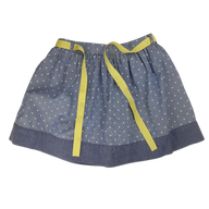 Pre-loved, Used, Secondhand, Girls, 7, Gymboree, skirt, Excellent, Blue, Stylish, Winter, Girls Size 7