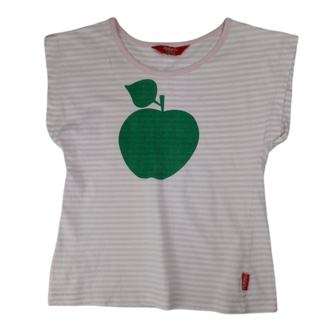 Pre-loved, Used, Secondhand, Girls, 4,5, Rhubarb, t-shirt, Fair, Pink, , Girls Size 4,5