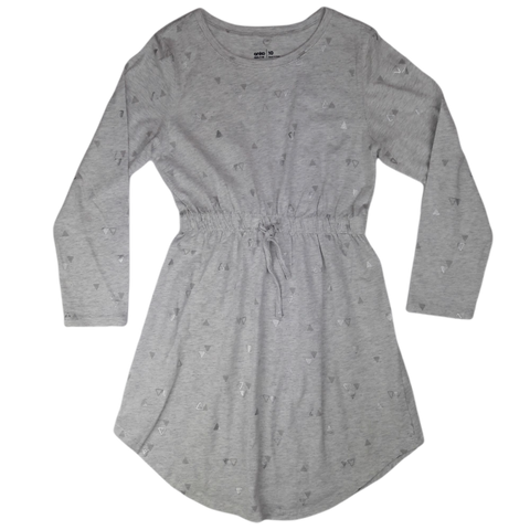 Pre-loved, Used, Secondhand, Girls, 10, Anko, dress, Excellent, Grey, , Girls Size 10