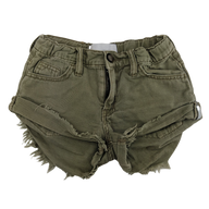 Pre-loved, Used, Secondhand, Girls, 7,8, Oneteaspoon, shorts, Excellent, Green, Party, Autumn, Girls Size 7,8