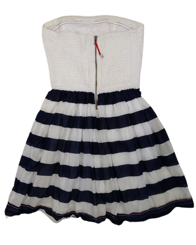 Pre-loved, Used, Secondhand, Girls, 11,12, Tommy Hilfiger, dress, Excellent, White, Autumn, Spring, Girls Size 11,12