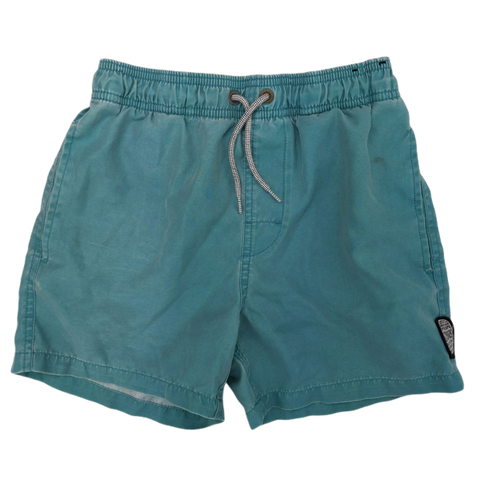 Preloved, Used, Secondhand, Boys, 10, Rip Curl, shorts, Fair, Green, Summer, Beach, Boys Size 10,