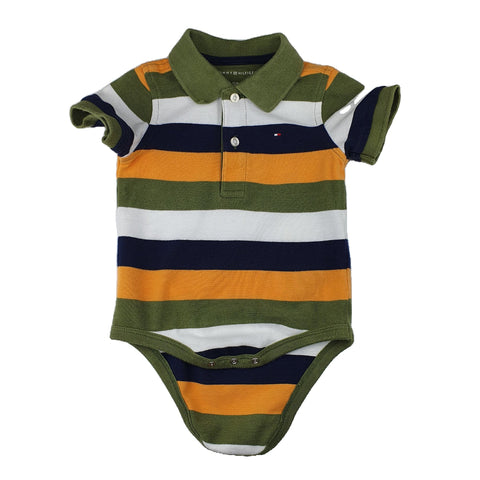 Romper Size 0-1 TOMMY HILFIGER Romper Junico Kids 14.99 Junico Kids sustainable affordable preloved baby kids clothing clothes local shop australia