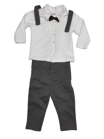 Set Size 0 Baby Baby tuxedo set Junico Kids 9.90 Junico Kids sustainable affordable preloved baby kids clothing clothes local shop australia