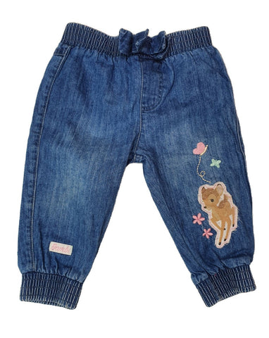 Pants Size 0 Disney Bambi elastic waist pants Junico Kids 6.99 Junico Kids sustainable affordable preloved baby kids clothing clothes local shop australia