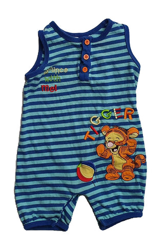 tiger Size 0 Disney tiger romper Junico Kids 3.99 Junico Kids sustainable affordable preloved baby kids clothing clothes local shop australia
