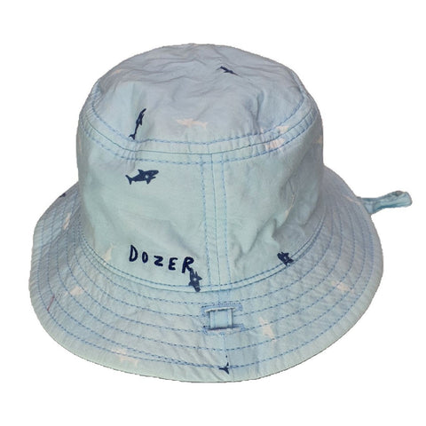 Hat Size 0 Dozer shark baby hat Junico Kids 9.99 Junico Kids sustainable affordable preloved baby kids clothing clothes local shop australia