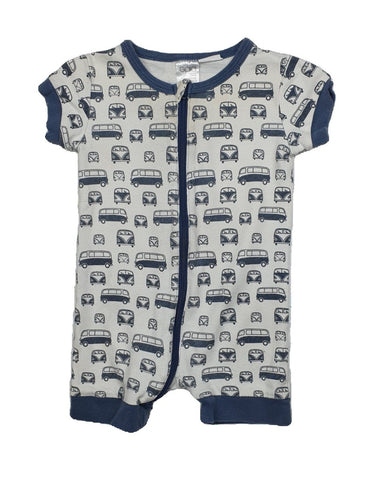 Romper Size 0 GAIA ORGANIC COTTON Romper Junico Kids 6.99 Junico Kids sustainable affordable preloved baby kids clothing clothes local shop australia