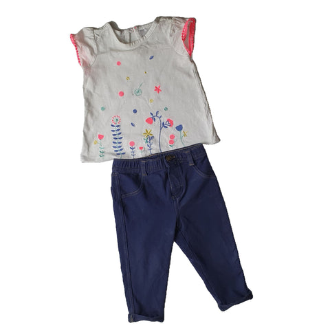 casual Size 0 Target casual set Junico Kids 2.99 Junico Kids sustainable affordable preloved baby kids clothing clothes local shop australia