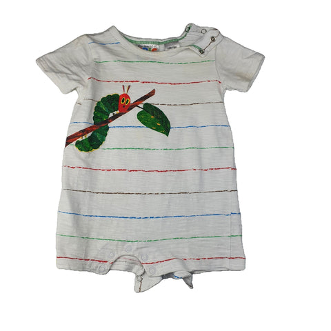 Romper Size 00  THE WORLD OF ERIC CARLE Romper Junico Kids 3.99 Junico Kids sustainable affordable preloved baby kids clothing clothes local shop australia