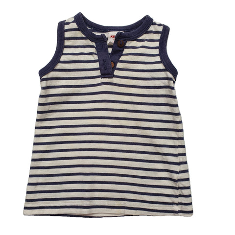 Top Size 00 Seed baby sleeveless top Junico Kids 8.99 Junico Kids sustainable affordable preloved baby kids clothing clothes local shop australia