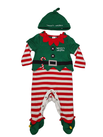 Set Size 00 Tu Santa's helper outfit set Junico Kids 10.99 Junico Kids sustainable affordable preloved baby kids clothing clothes local shop australia