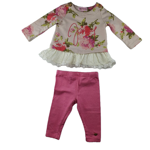 Set Size 000-00 JUICY COUTURE Set Junico Kids 10.99 Junico Kids sustainable affordable preloved baby kids clothing clothes local shop australia