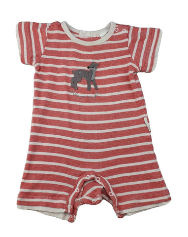 Romper Size 000 Pure Baby stripey romper Junico Kids 8.99 Junico Kids sustainable affordable preloved baby kids clothing clothes local shop australia