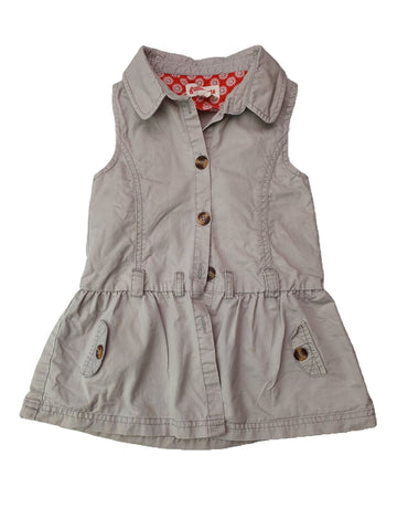Dress Size 1-2 Gumboots safari dress Junico Kids 13.99 Junico Kids sustainable affordable preloved baby kids clothing clothes local shop australia