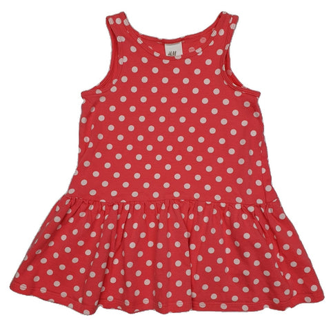 Dress Size 1 H&M polka-dot dress Junico Kids 7.90 Junico Kids sustainable affordable preloved baby kids clothing clothes local shop australia
