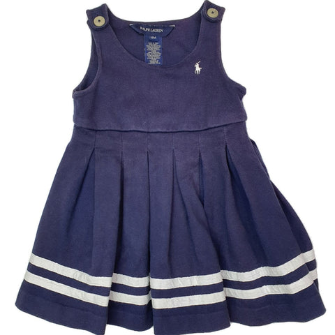 Overall Size 1 Ralph Lauren dress overall Junico Kids 19.90 Junico Kids sustainable affordable preloved baby kids clothing clothes local shop australia